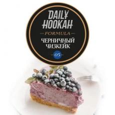 Табак Daily Hookah Formula Черничный Чизкейк 05 - 25 грамм