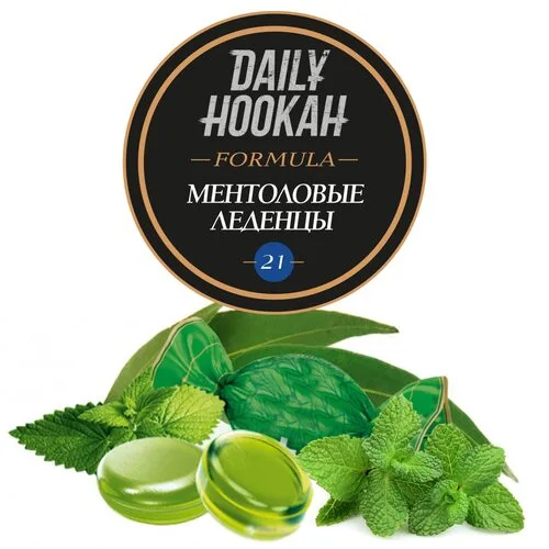 Табак Daily Hookah Formula 21 Ментоловые Леденцы - 60 грамм