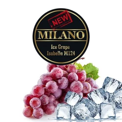 Табак Milano Ice Grape Isabella M124 (Лёд Виноград Изабелла) - 50 грамм