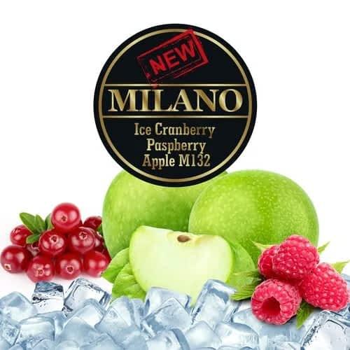 Табак Milano Ice Cranberry Raspberry Apple M132 (Лёд Клюква Малина Яблоко) - 50 грамм