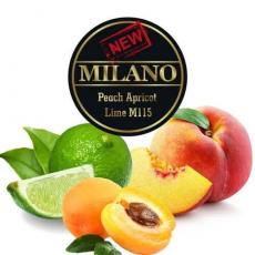 Табак Milano Peach Apricot Lime M115 (Персик Абрикос Лайм) - 50 грамм