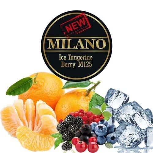 Табак Milano Ice Tangerine Berry Twist M125 (Лёд Мандарины Ягоды) - 50 грамм