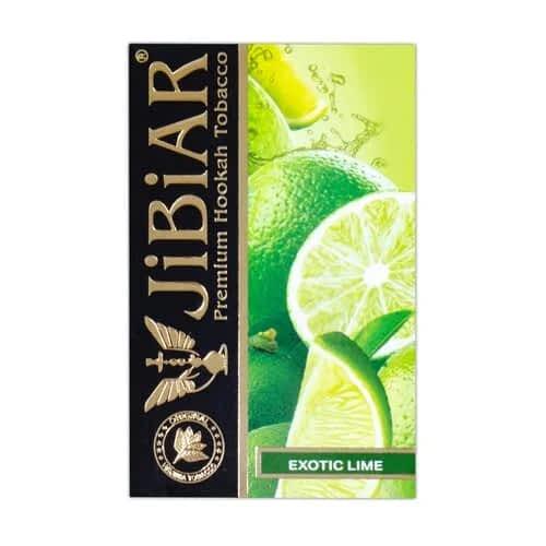 Табак Jibiar Exotic Lime (Экзотик Лайм) - 50 грамм