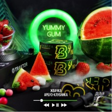 Табак Banger Yummy Gum (Жвачка Арбуз Клубника) - 100грамм