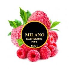 Табак Milano Raspberry Kiss M91 (Малина Кисс) 100 грамм