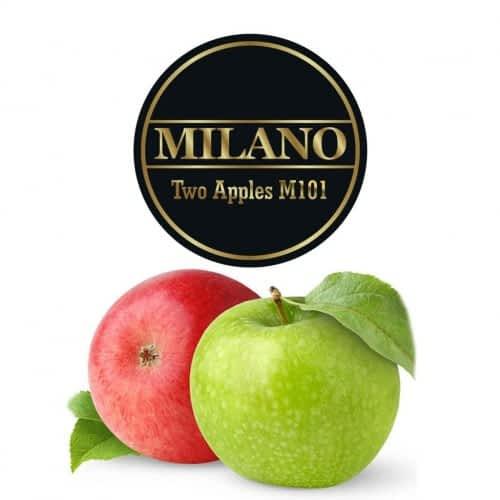Табак Milano Two Apple (Двойное Яблоко) - 100 грамм