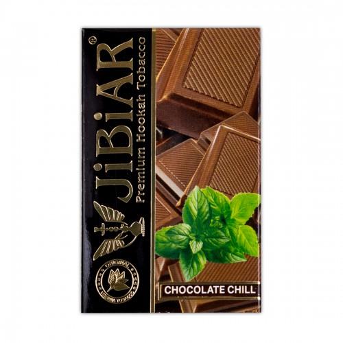 Табак Jibiar Chocolate Chill (Шоколад Мята) - 50 грамм