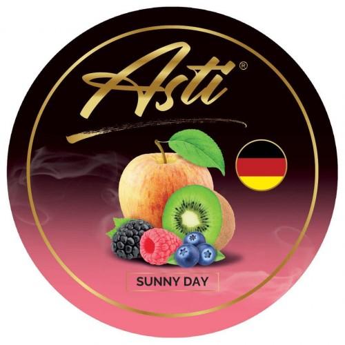 Табак Asti Sunny Day (Яблоко Киви Ягоды) - 100 грамм