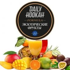 Табак Daily Hookah Formula 22 Экзотические Фрукты - 250 грамм