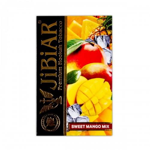 Табак Jibiar Sweet Mango Mix (Сладкий Манго Микс) - 50 грамм