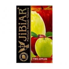 Табак Jibiar Two Apple (Двойное Яблоко) - 50 грамм