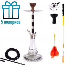 Кальян LEX Sl-66 Carbonica Silver