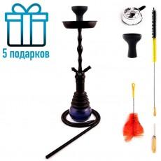 Кальян LEX 706 Black Blue