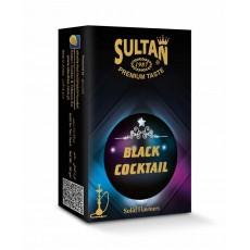 Табак Sultan Black Coctail (Черный Коктейль) - 50 грамм