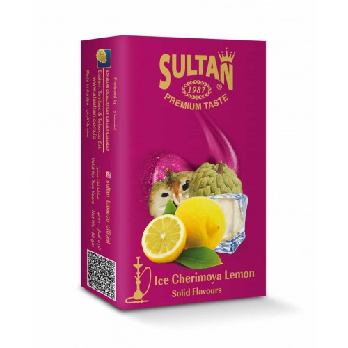 Табак Sultan Ice Cherimoya Lemon (Лед Черимойя Лимон) - 50 грамм