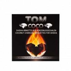 Уголь кокосовый Tom Cococha Diamond 64 шт
