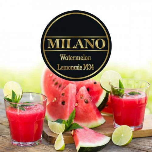Табак Milano Watermelon Lemonade M34 (Арбузный Лимонад) - 100 грамм