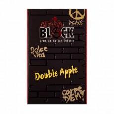 Табак Adalya Black Double Apple (Двойное Яблоко) - 50 грамм