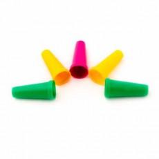 Мундштуки для кальяна наружные цветные 100 шт