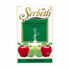 Табак Serbetli Two Apple (Двойное Яблоко) - 50 грамм