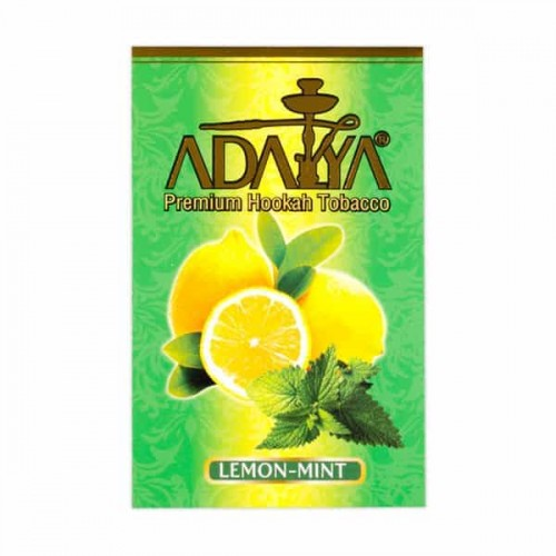 Табак Adalya Lemon Mint (Лимон Мята) - 50 грамм