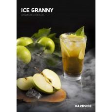 Табак Darkside Medium Ice Granny (Ледяное Яблоко) - 100 грамм