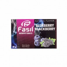 Табак Fasil Blueberry Blackberry (Черника Ежевика) - 50 грамм
