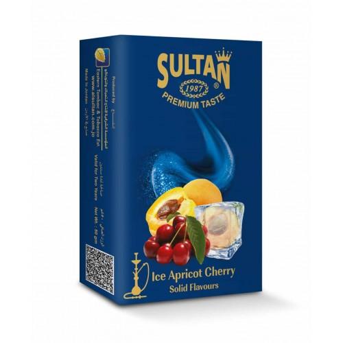 Табак Sultan Ice Apricot Cherry (Лед Абрикос Вишня) - 50 грамм