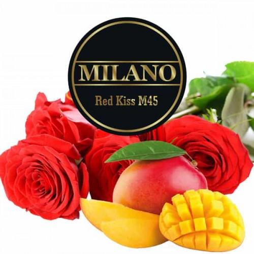 Табак Milano Red Kiss M45 (Красный Поцелуй) - 100 грамм