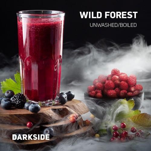 Табак Darkside Medium Wild Forest (Дикая Земляника) - 100грамм