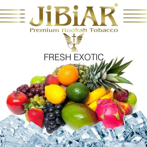 Табак Jibiar Fresh Exotic (Свежий Экзотик) - 100 грамм