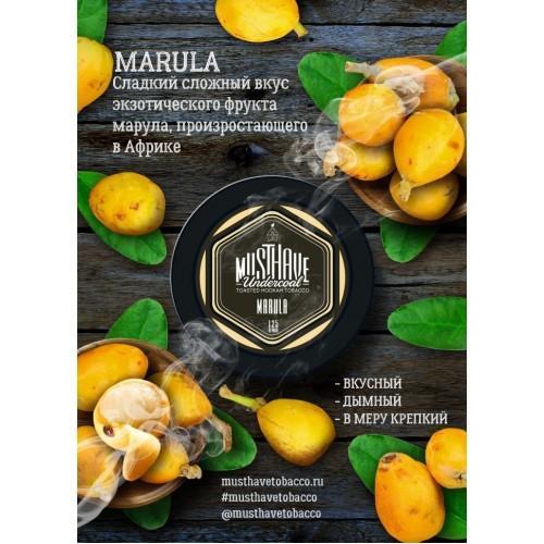 Табак Must Have Marula (Марула) - 125 грамм